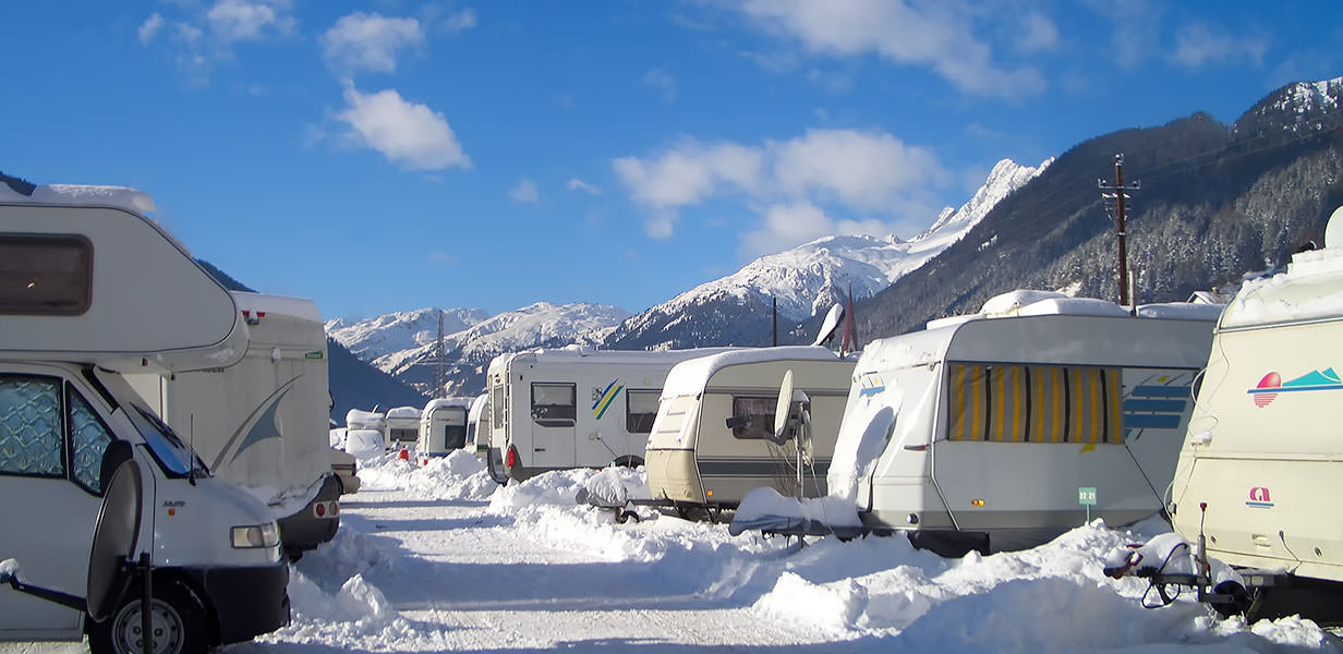 Camping in Pettneu at the Arlberg in Tyrol - Austria